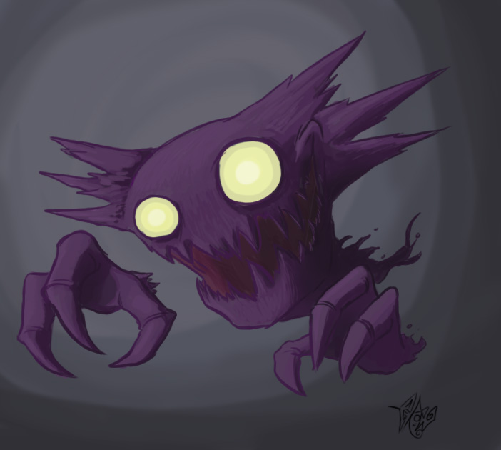 Haunter by Edwardcrow