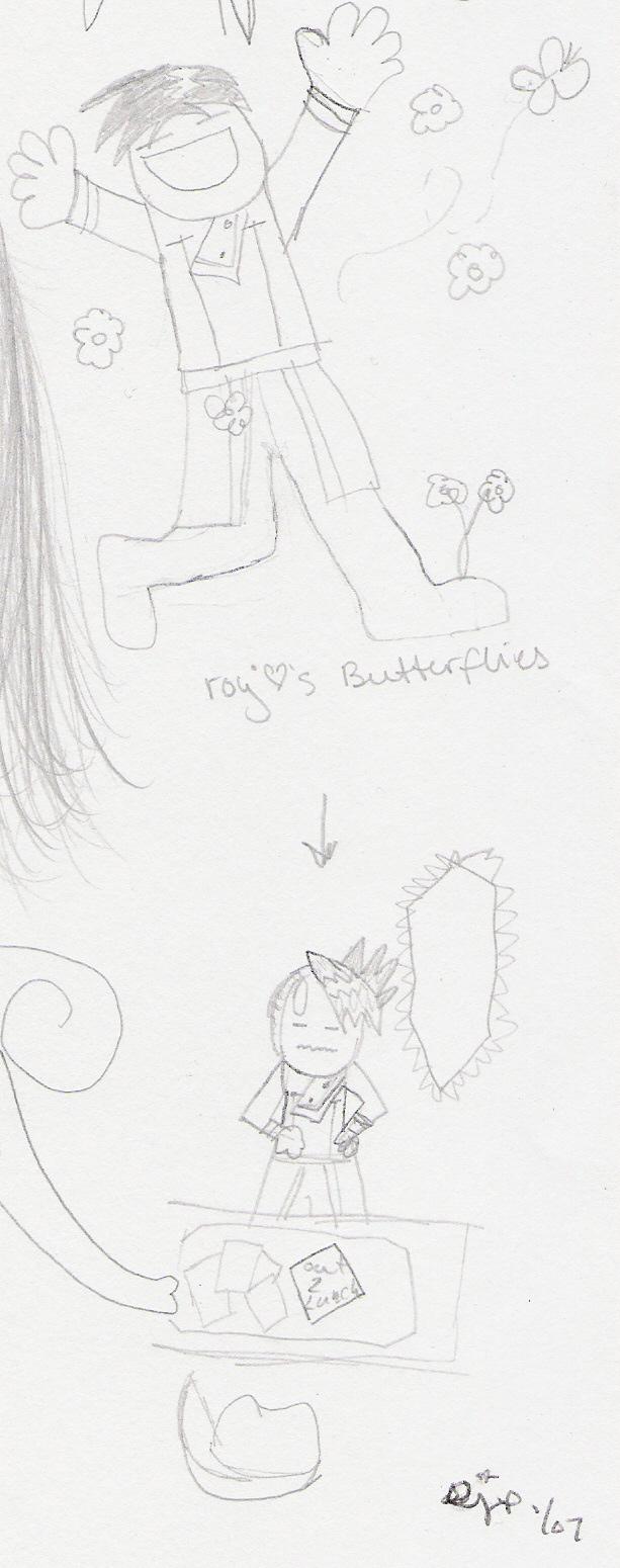 Butterfly by starrieidgirl