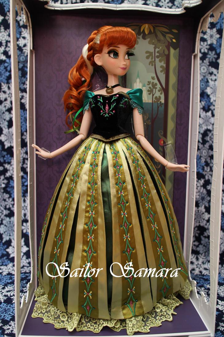 Disney Store Frozen LE Doll Coronation Anna by SailorSamara