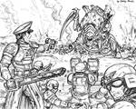 Imperial Guard last stand