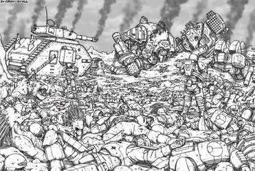 The Apotheosis of War by Gray-Skull