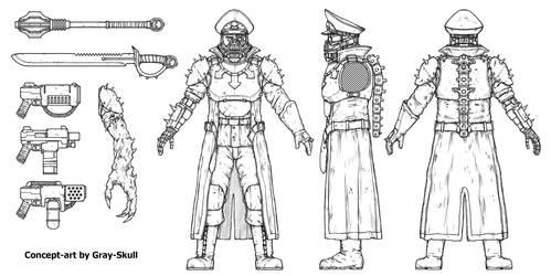 Blood Hauptman (concept-art)