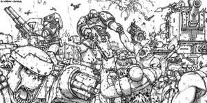 Silver Skulls vs Orks
