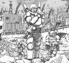 Not all heroes wear power armor
