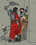 His 'Cadian Pylon' is in danger :)