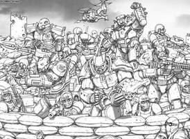 Warhammer40k - Fallout crossover