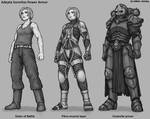 Sisters of Battle Power Armor (updated art)