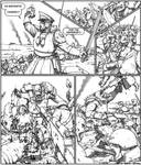 Valhallan bayonet charge