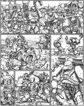 Astartes, orks and ultra-violence