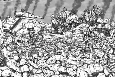The Apotheosis of War (updated art)