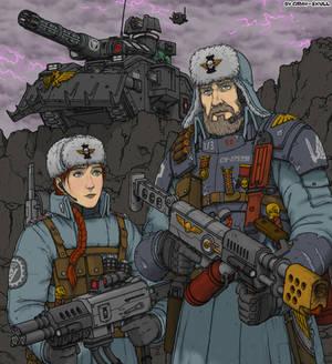 Dark Heresy characters (commission art)
