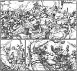 Necron Spider Guardians Vs Orks by Gray-Skull
