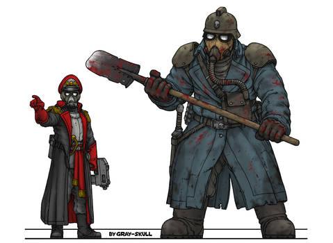 Brutal ogryn from Death Korps of Krieg