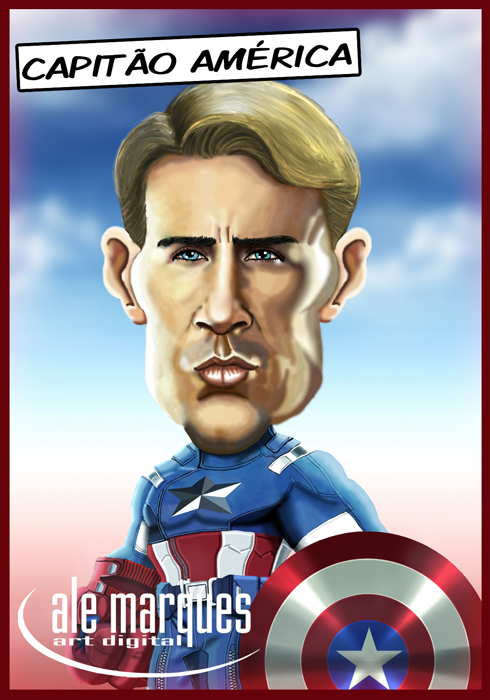 Steve Rogers by Ale