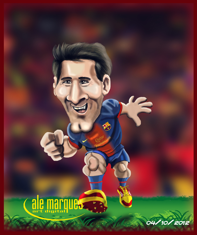 MESSI by Ale