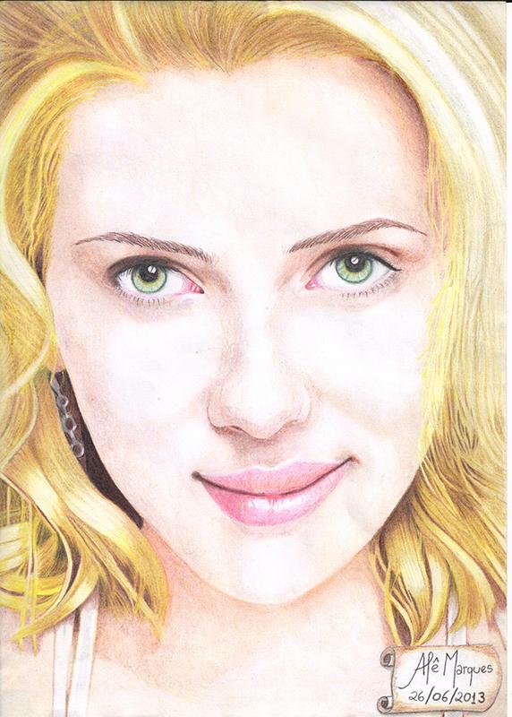 Scarlett Johansson by Ale