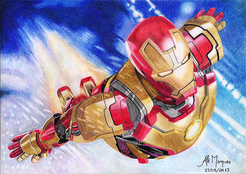 Iron Man by Ale