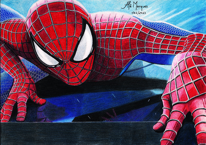 Spider Man by Ale