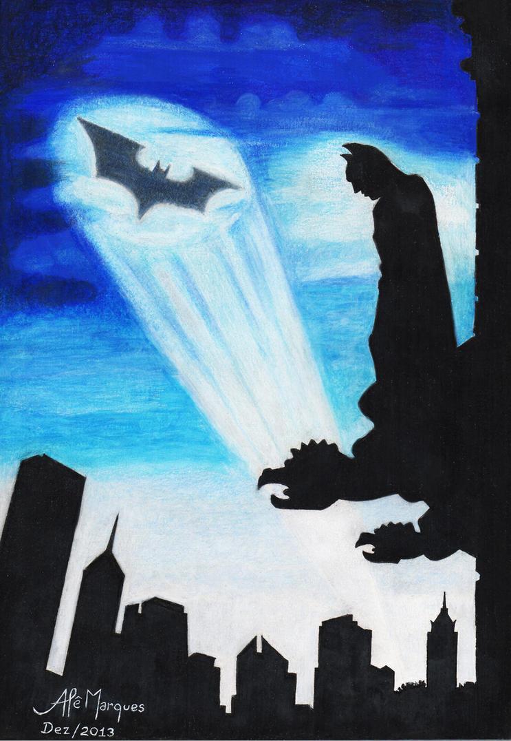 BATMAN - Gotham City by alemarques21