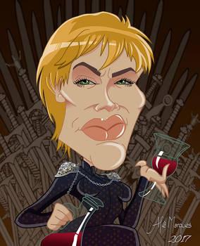 Cersei Lannister - Caricature