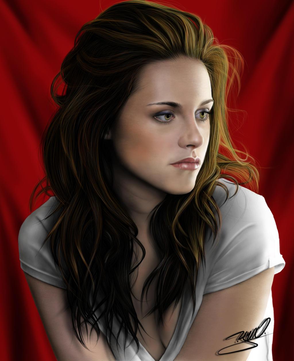 Kristen Stewart retrat...
