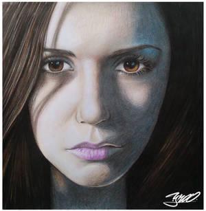 Nina dobrev retrato