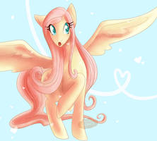MLP  Fluttershy by Aire-Draws
