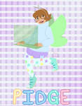 [Pastel Magical Girl] Pidge by Aire-Draws