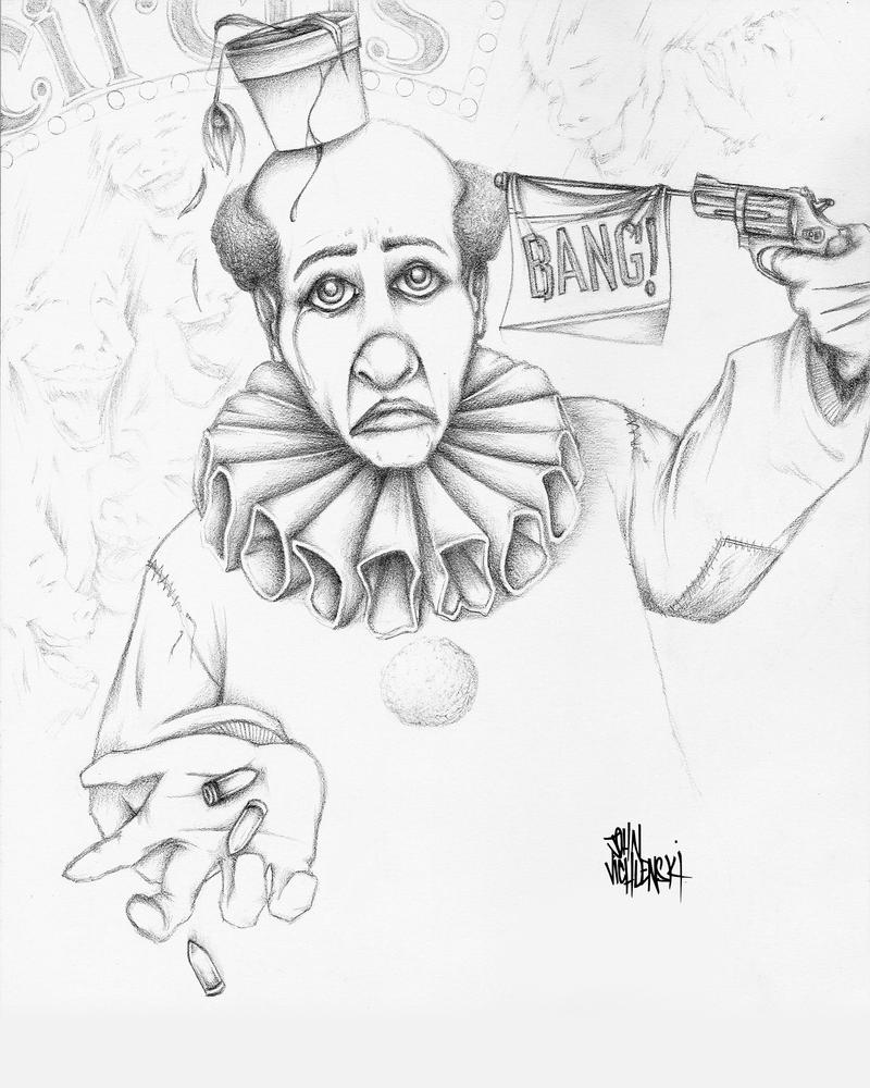 Easy Gangster Clown Drawings Easy Gangster Joker Drawings