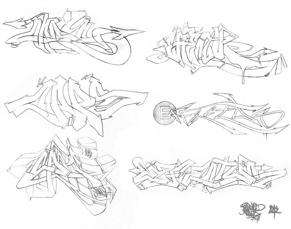 Graff Sketches 03 by JohnVichlenski