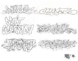Graff Sketches 06 by JohnVichlenski