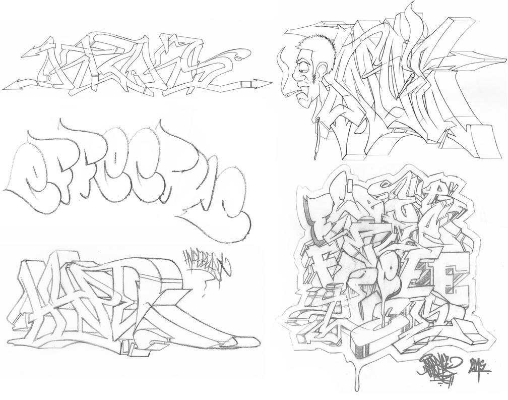 Graff Sketches 07 by JohnVichlenski