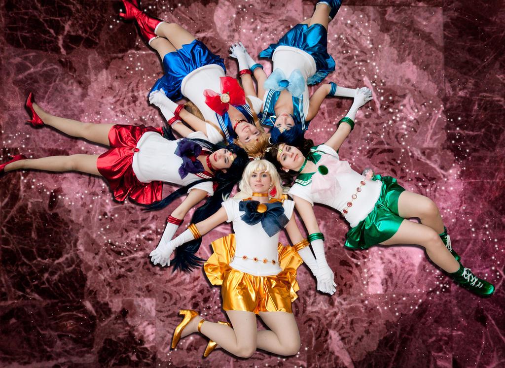 Inner Senshi by JellyBellyCosplay