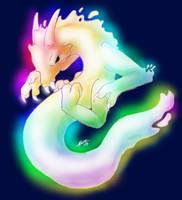 Rainbow wraith by nepryne