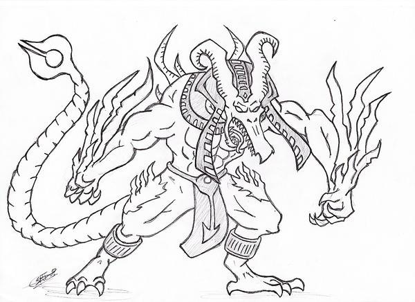 tekken 6 coloring pages - photo#21