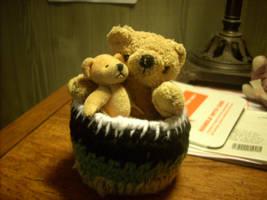 Basket O' Bears by wickedlovely04