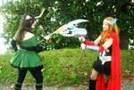 Female Loki vs Female Thor