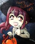 Happy Halloween from Gou-chan!