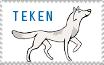 Teken stamp by Quomlon