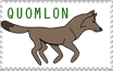 Quomlon stamp by Quomlon