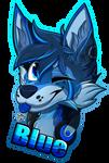 [C] blue
