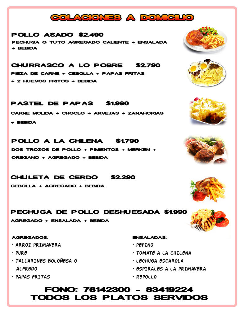 Menu comida rapida by walfordmasters on deviantart for Menu comida