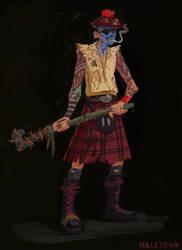 Post-apocalyptic guy sketch by maleyevaaa