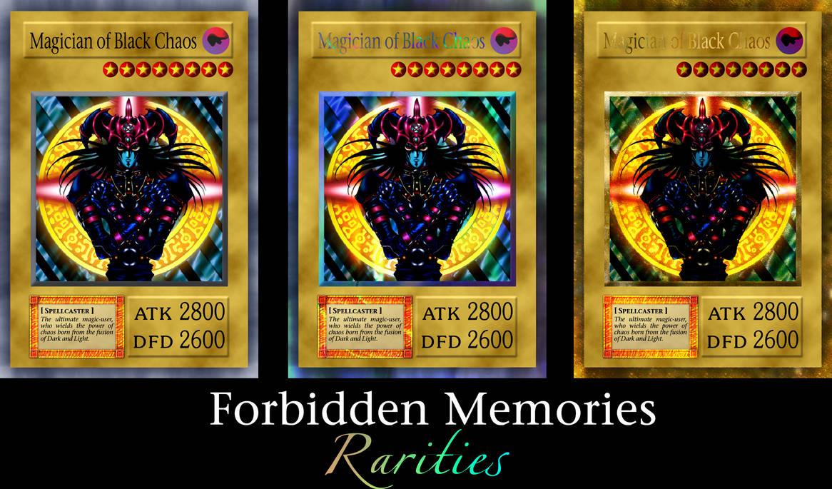 Yugioh Forbidden Memories Rarities by Yugi-Master on DeviantArt