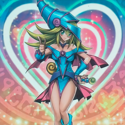 Dark Magician Girl (The Dark side of Dimensions) by Yugi-Master