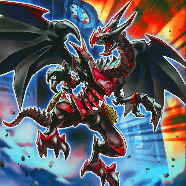 Red-Eyes Retro Dragon by Yugi-Master