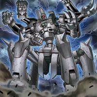 Megaton Ancient Gear Golem by Yugi-Master