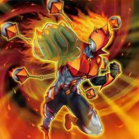 Elemental Hero Blazeman by Yugi-Master