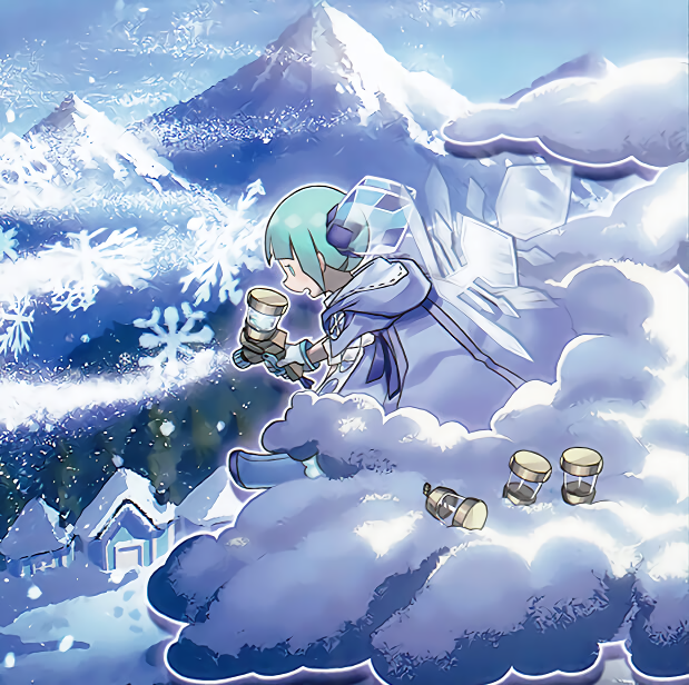 The Weather Snowy Canvas by Yugi-Master