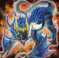 Beastial Thunder Dragon by Yugi-Master